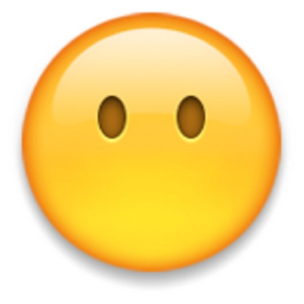 Face without mouth emoji.